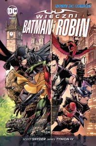Wieczni Batman i Robin - tom 1 okładka