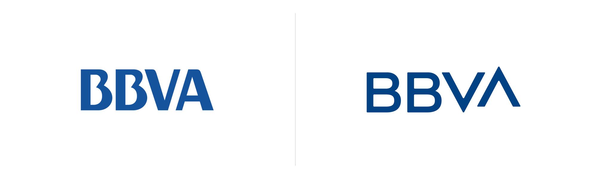 bank bbva zmienia logo