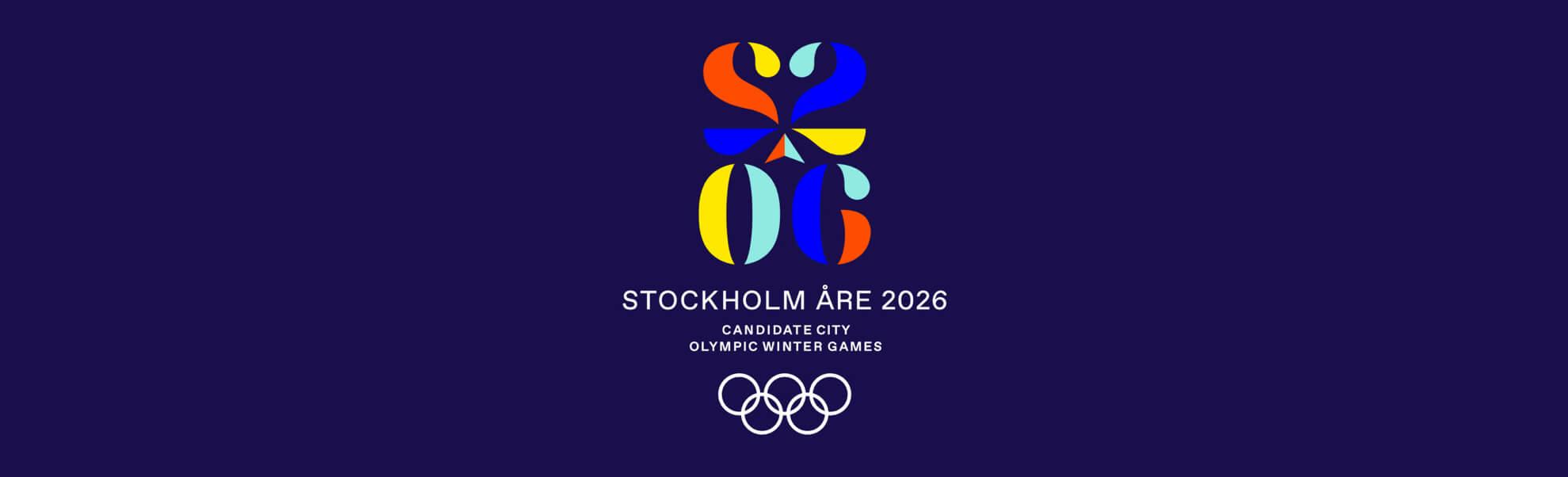 Sztokholm iÅre mają kandydackie logo
