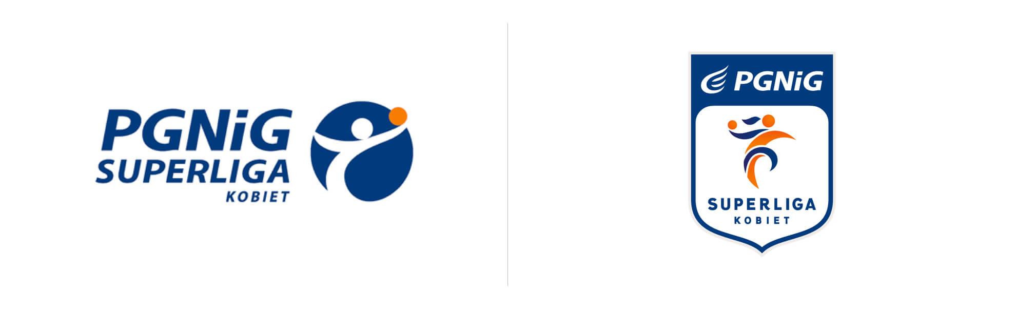 PGNiG Superliga Kobiet stare inowe logo