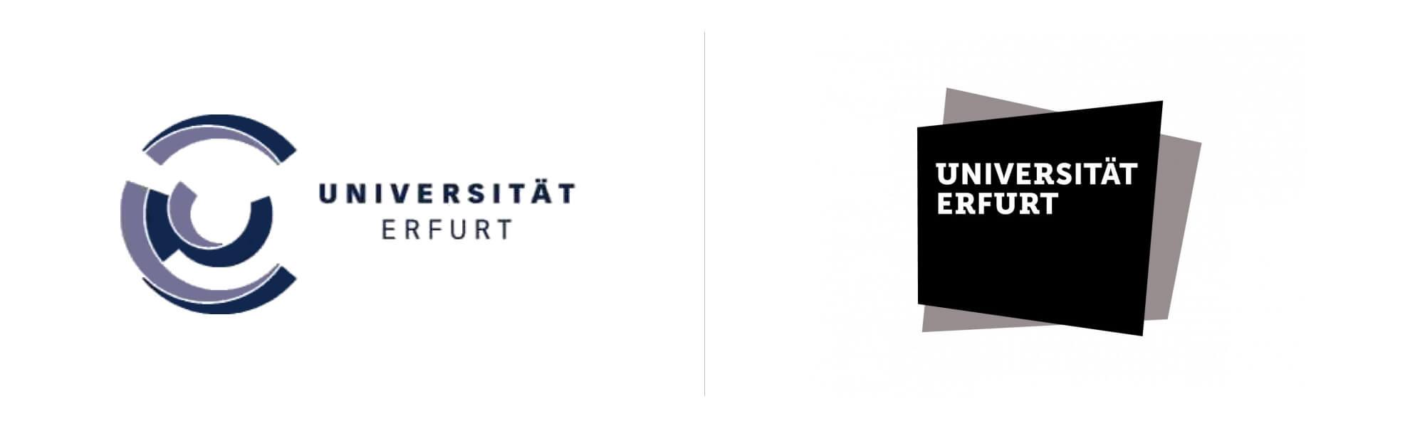 Universität Erfurt nowe istare logo