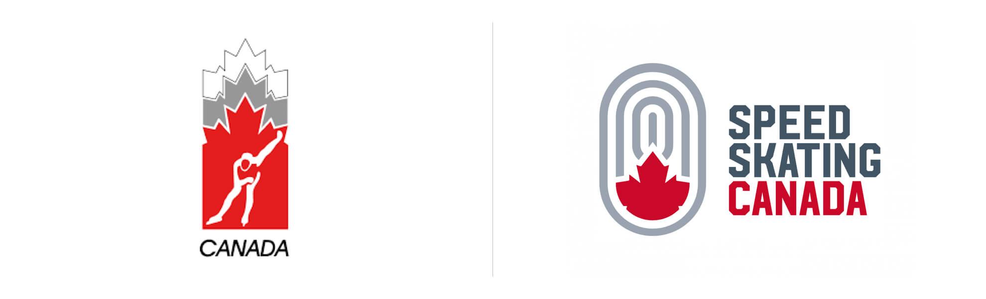Kanadyjskie Łyżwiarstwo Szybkie znowym logo