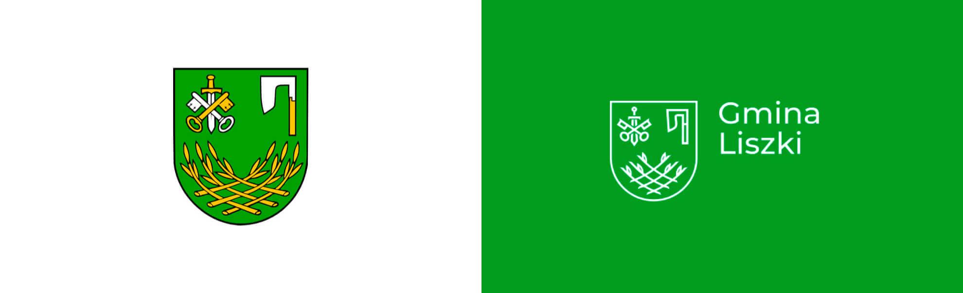 gmina liszki ma nowe logo