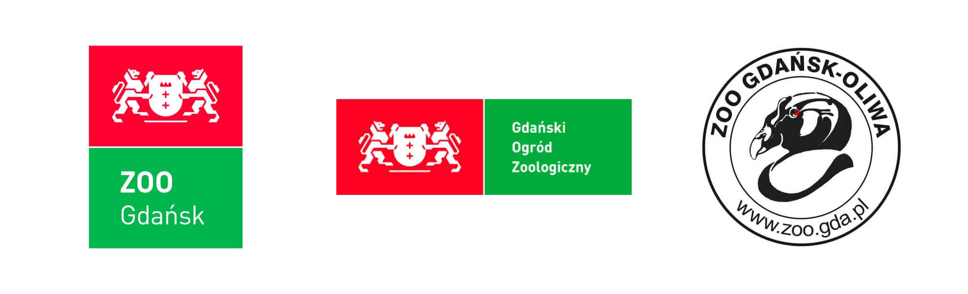 trzy znaki gdańskiego zoo
