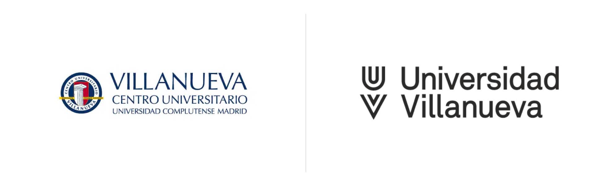 Universidad Villanueva znowym logo