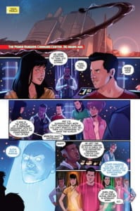 Review Komik Justice League / Power Rangers #1 (2017)