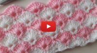 Çok Kolay İki Renkli Battaniye Örneği / Baby Blanket Model