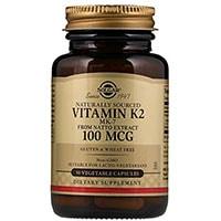 Solgar ბუნებრივი ვიტამინი K2