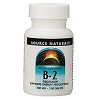 Bron Naturals Vitamien B-2 Riboflavien