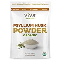 Viva Naturals ორგანული Psyllium Husk