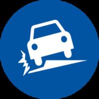 Defective Road Pavement Icon - Personal Injury Representation from Martin, Harding & Mazzotti 1800law1010