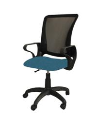 Кресло оператора СН-686 Лайт (спинка TW, сиденье ткань офисная, пиастра)