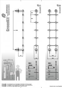 Jakob Rope systems assembly instruction greenkit