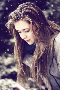 Plaukų priežiūra žiemą