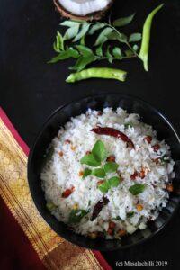 Coconut Rice Recipe | Thengai Sadam