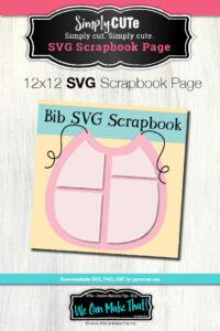 Bib SVG Scrapbook Page