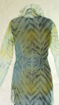 Atelier-Samstag - Musterbilder: Organdy Shibori Mantel