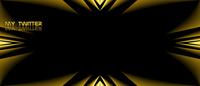 Bild - Twitter Hintergrund - dramatic gold, Dateityp: png, 1600 x 685, Größe: 209.92 kB