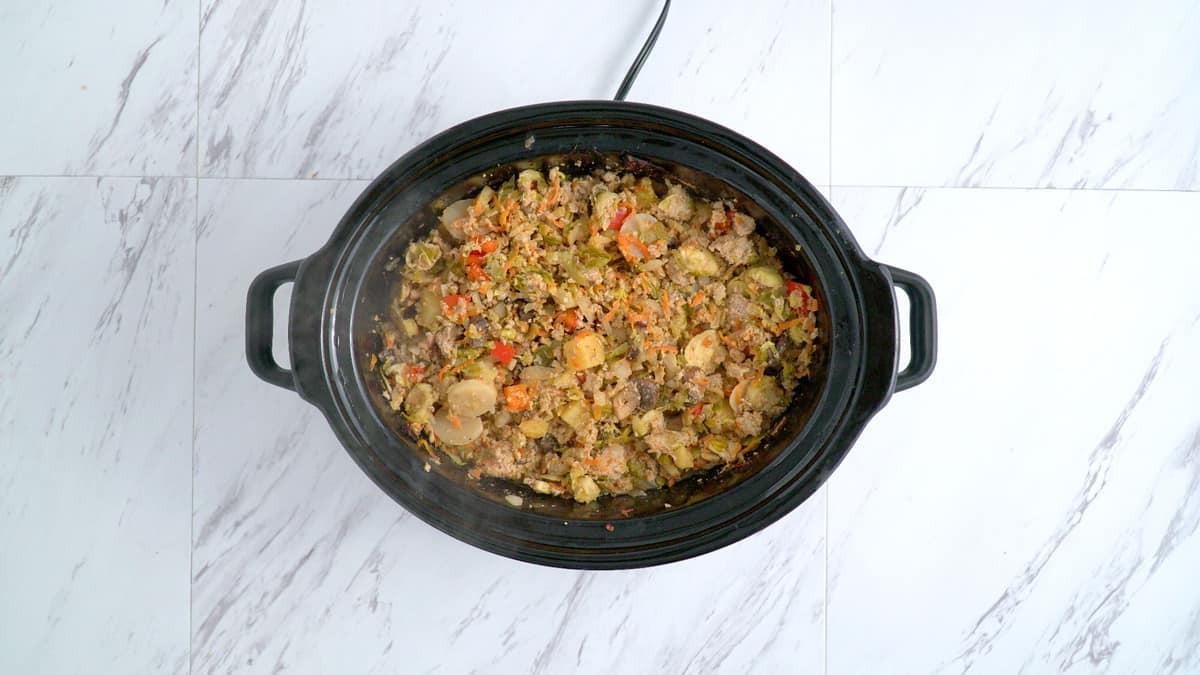 slow cooker pineapple turkey, whole30 freezer crockpot meal, whole30 meals, whole30 meal prep, best whole30 recipes, paleo meal prep