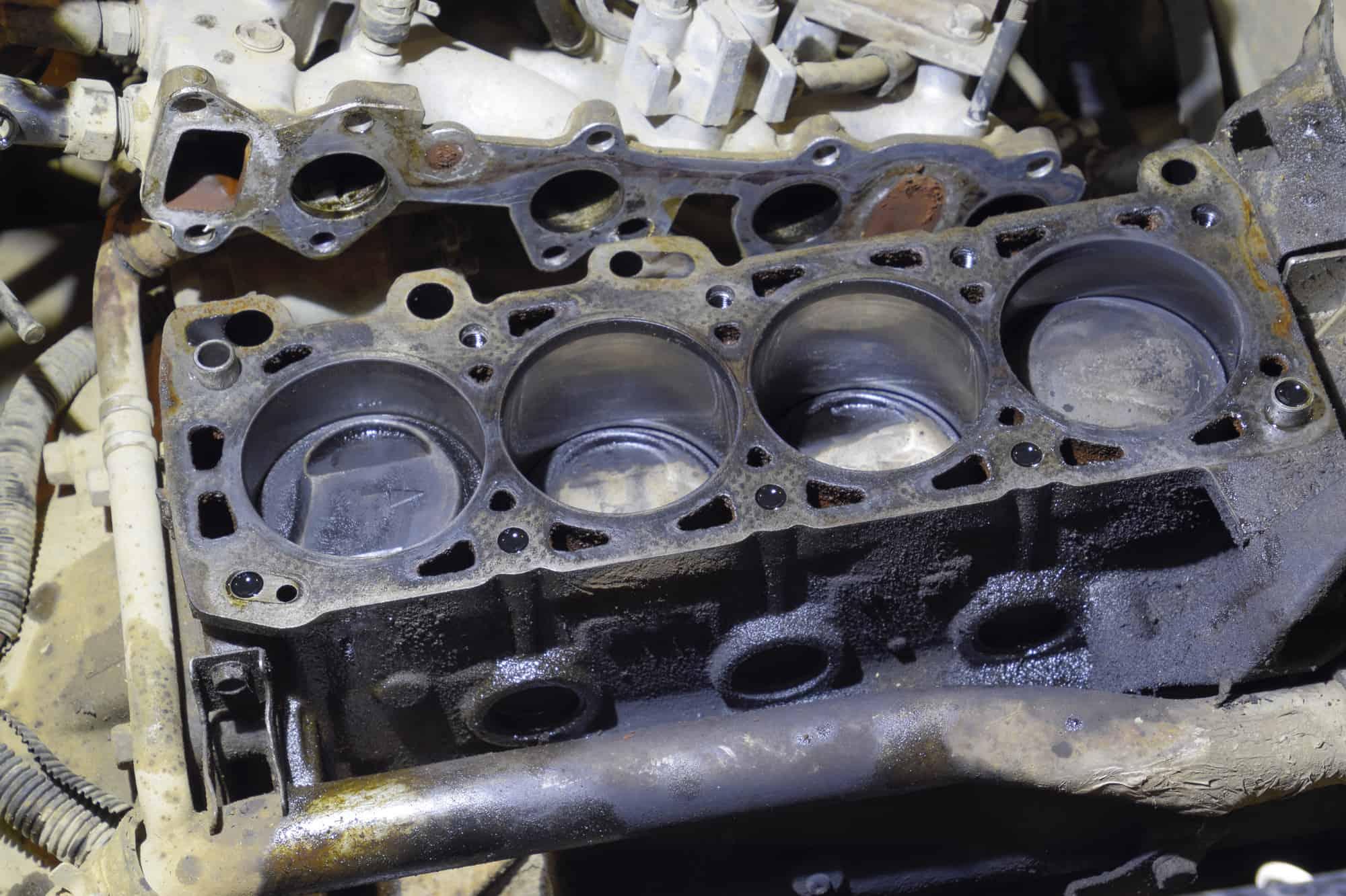 blown cylinder head gasket