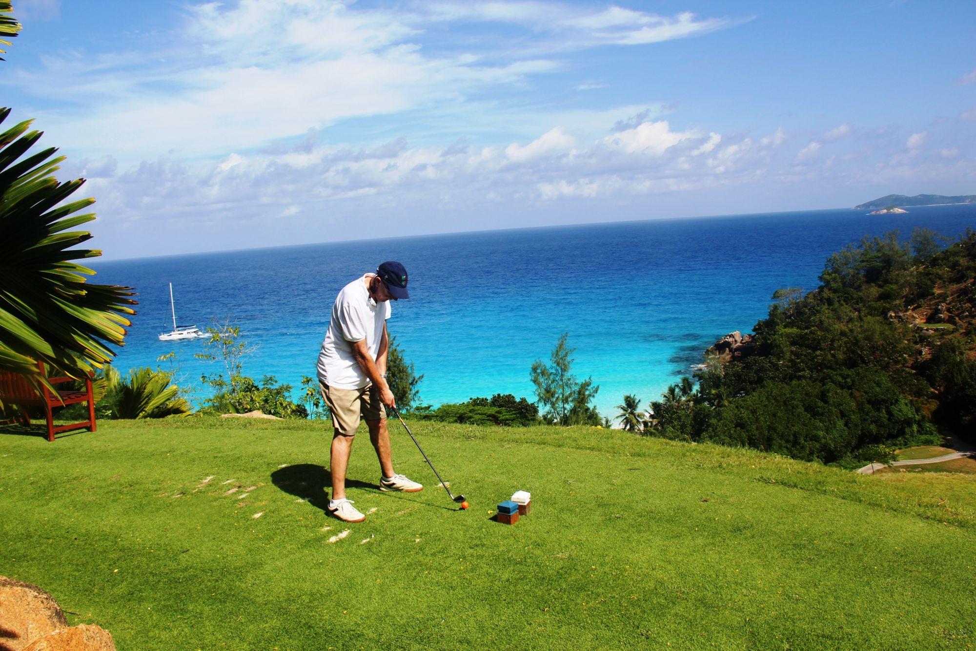 Seychelles Praslin golf