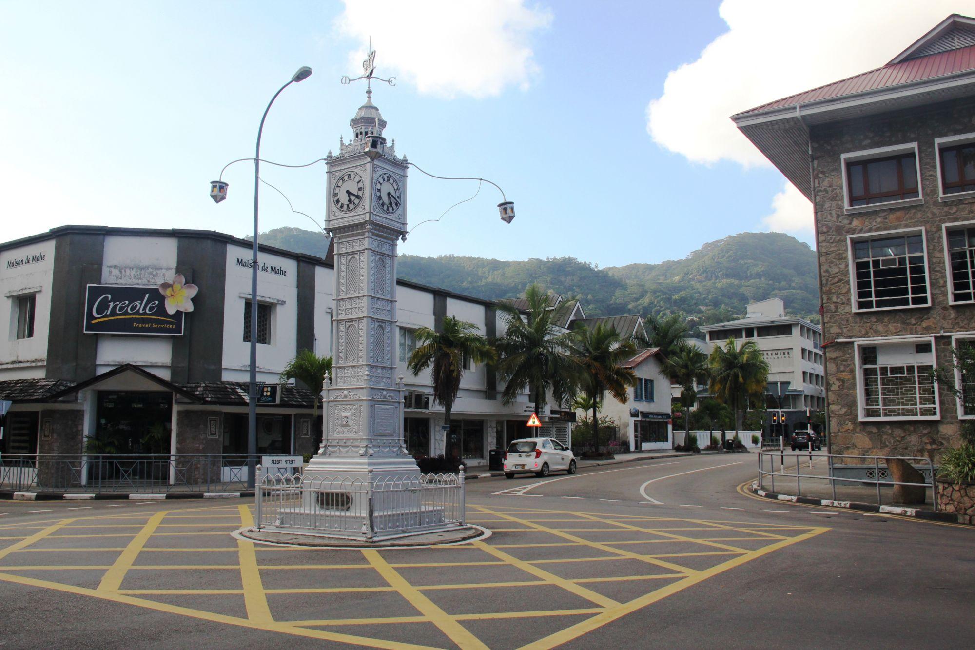 Seychelles victoria clock
