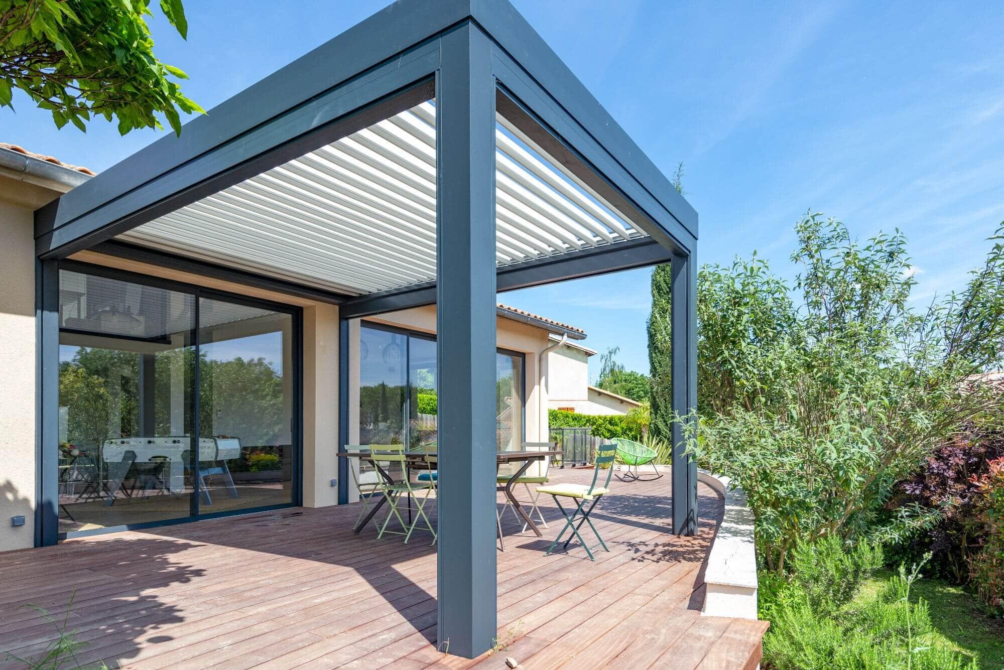 Terrasse refait à neuf, maison renovée