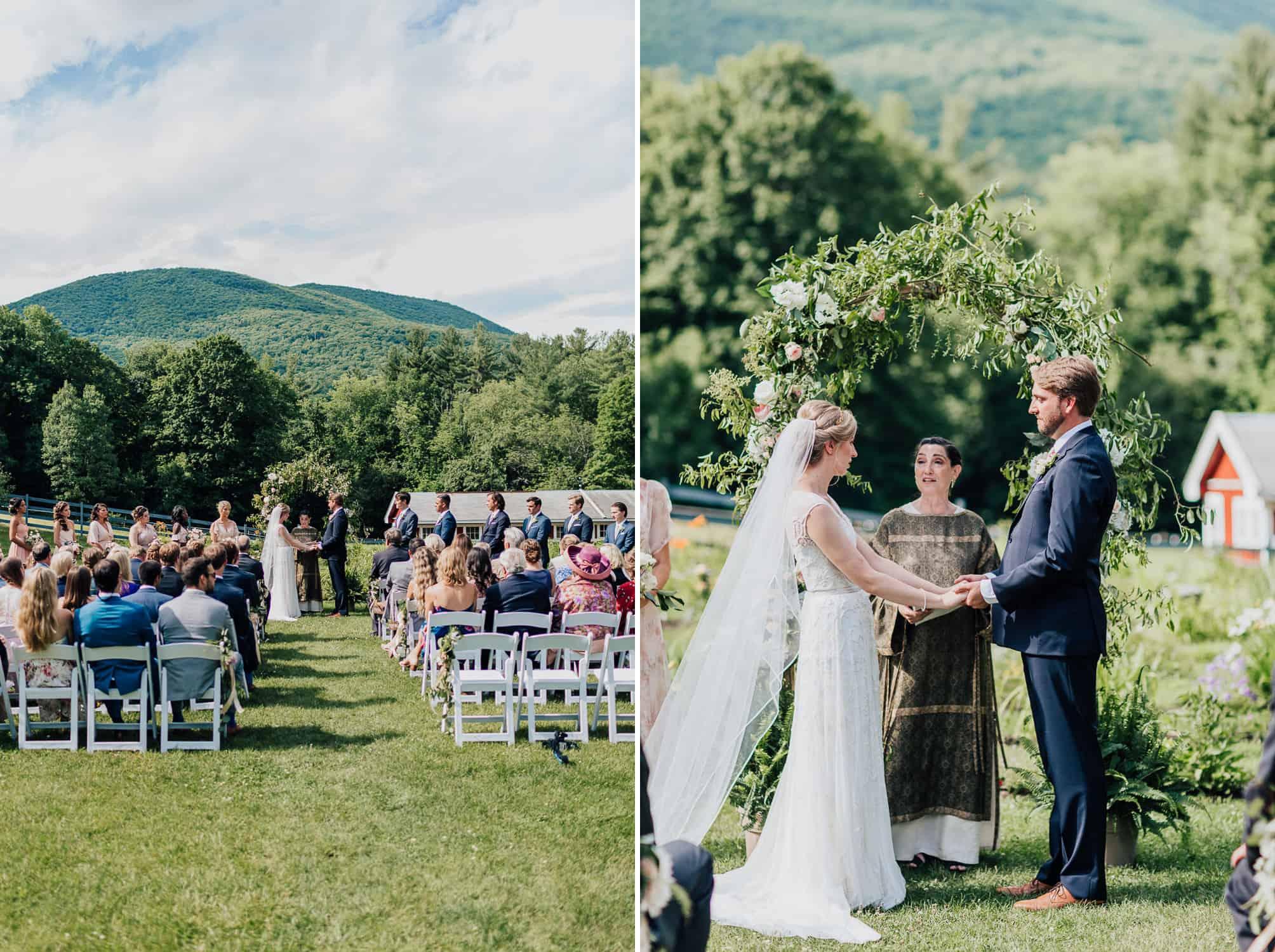 Vermont Green Mountain West Mountain Inn Wedding