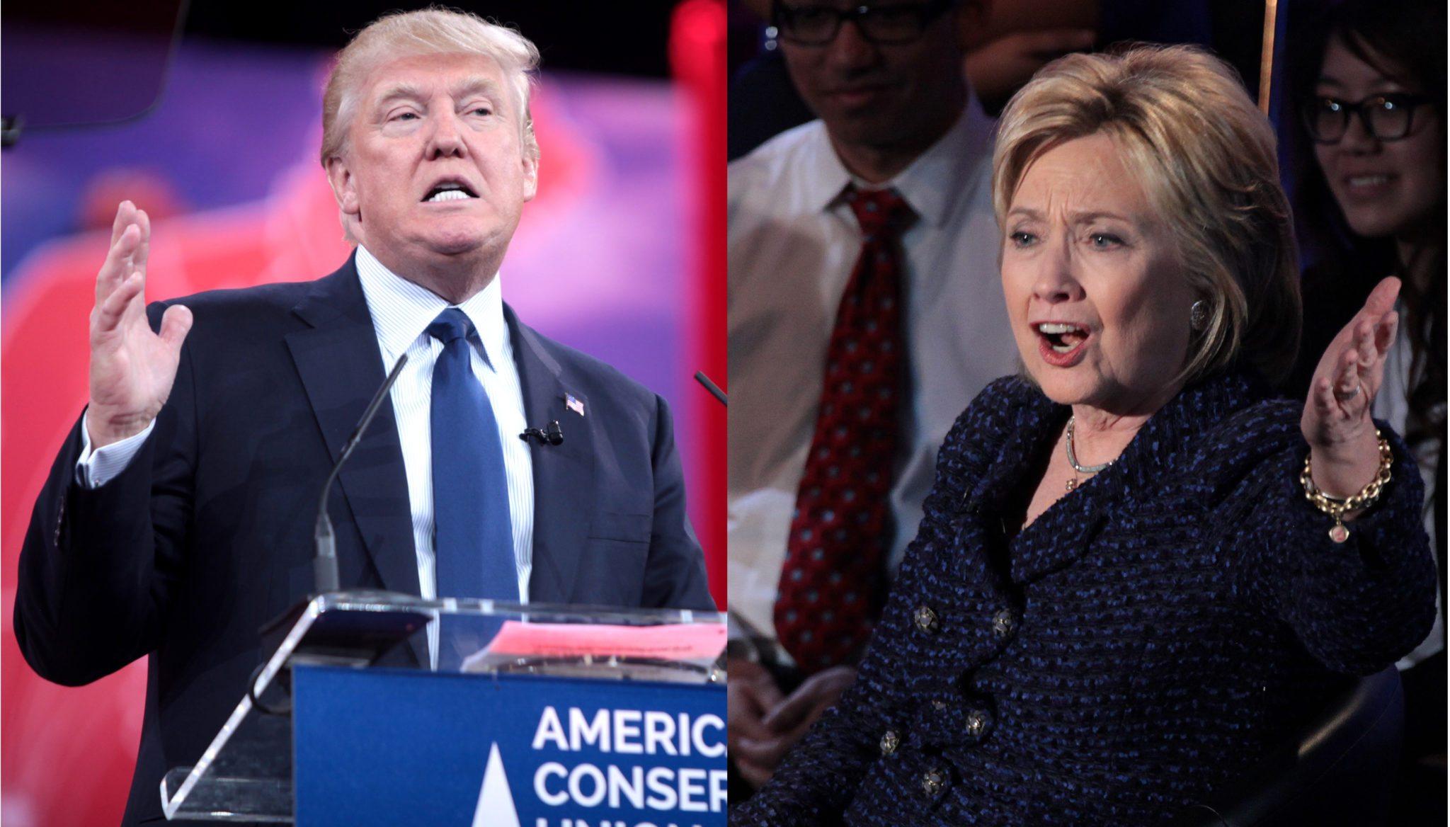 Donald Trump Hillary Clinton Fox poll