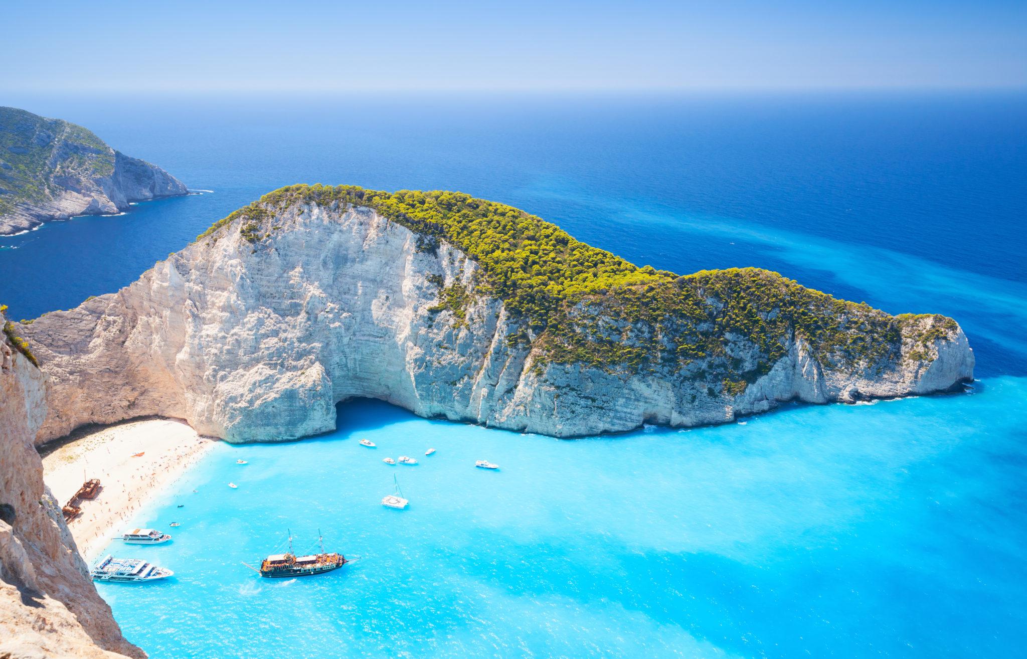 Zakynthos Shipwreck Bay