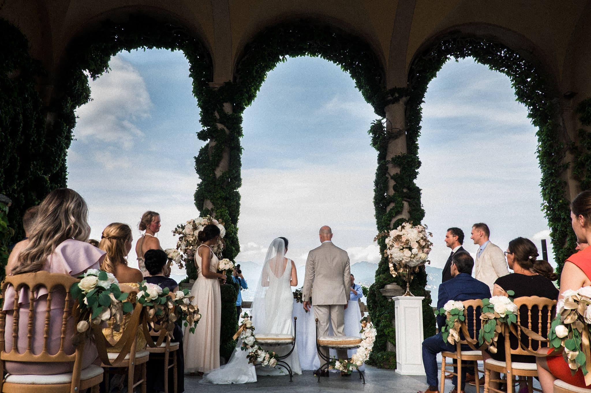 celebrazione nozze a villa balbianello