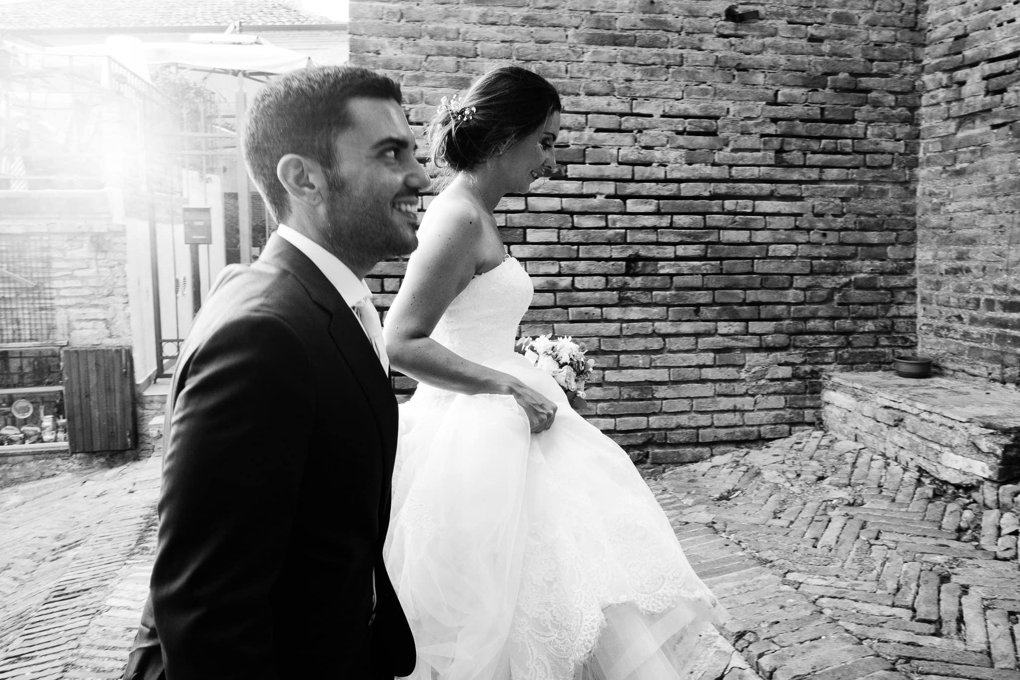ritratti sposi nelle marche