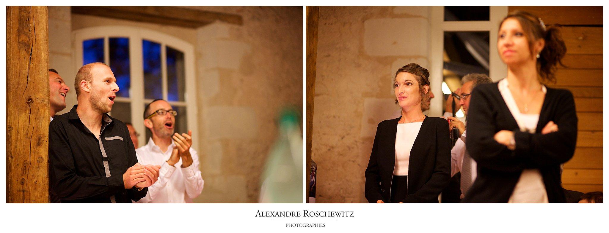 Les photos du mariage de mes bons amis Pauline et Nicolas à Brigné, à Gennes et au Domaine du Marchais Bouchet, Maine-et-Loire. Alexandre Roschewitz Photographies
