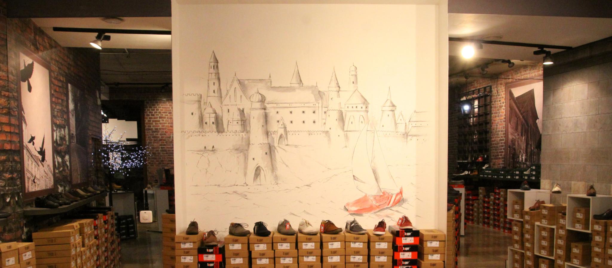 fototapety na wymiar motyw ściany cegły mural
