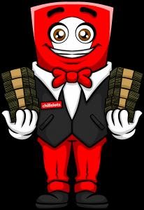 Character Chillslots - money
