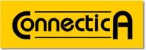 il logo della connectica, a partire dal 1995, il primo logo, che richiamava quello della Lotus Development