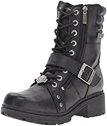 harley-davidson women's talley ridge motorcycle boot