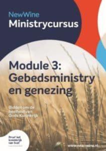 Dit is een brochure van Ministry Cursus 3