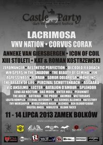 Plakat der Castleparty Bolkow 2013 / Bild: Veranstalter