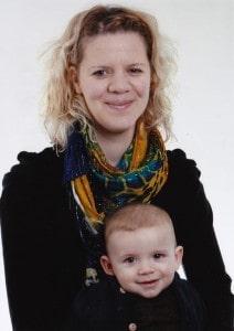 """Bildnachweis: privat; """"Mit Yoga in der Schwangerschaft blühte ich richtig auf"""", sagt Anna Lietsch, 31 Jahre, hier mit ihrem kleinen Sohn Willi"""