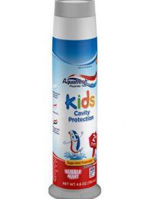 Kem đánh răng Aquafresh Kids Cavity Protection Bubble Mint