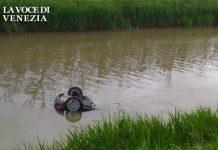 Disgrazia nella notte: morto 23enne di Burano finito in acqua con l'auto a Saccagnana