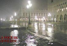 Tempo peggiora: allerta dalla mezzanotte con acqua alta a Venezia