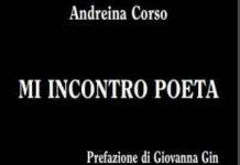 """Andreina Corso: """"Mi Incontro Poeta"""", presentazione venerdì 5 ottobre da Feltrinelli"""