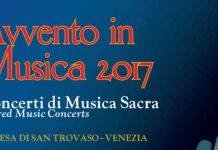 Avvento in Musica 2017, Chiesa San Trovaso: gli appuntamenti