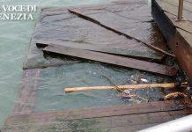 danni acqua alta passerella sant'alvise