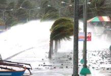 tifone danni forza uragano