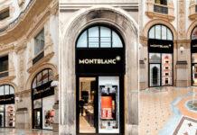 montblanc, quadrilatero, via montenapoleone, flagship