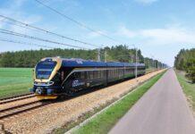 Pociąg czeskiego przewoźnika Leo Express