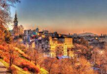 panorama Belgradu